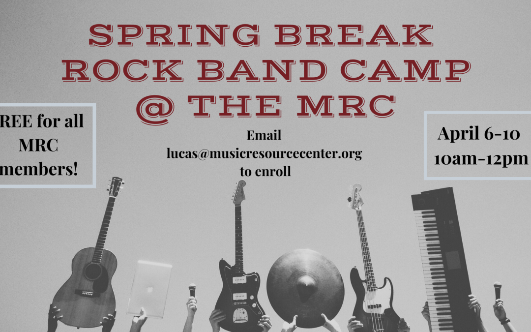 Spring Break Rock Band Camp