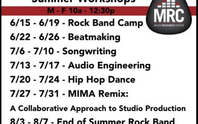 MRC Summer Workshops 2020